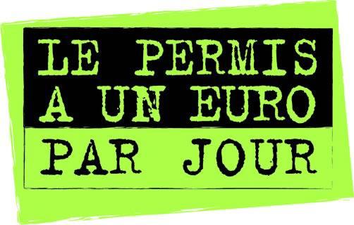 permis 1 euro par jour