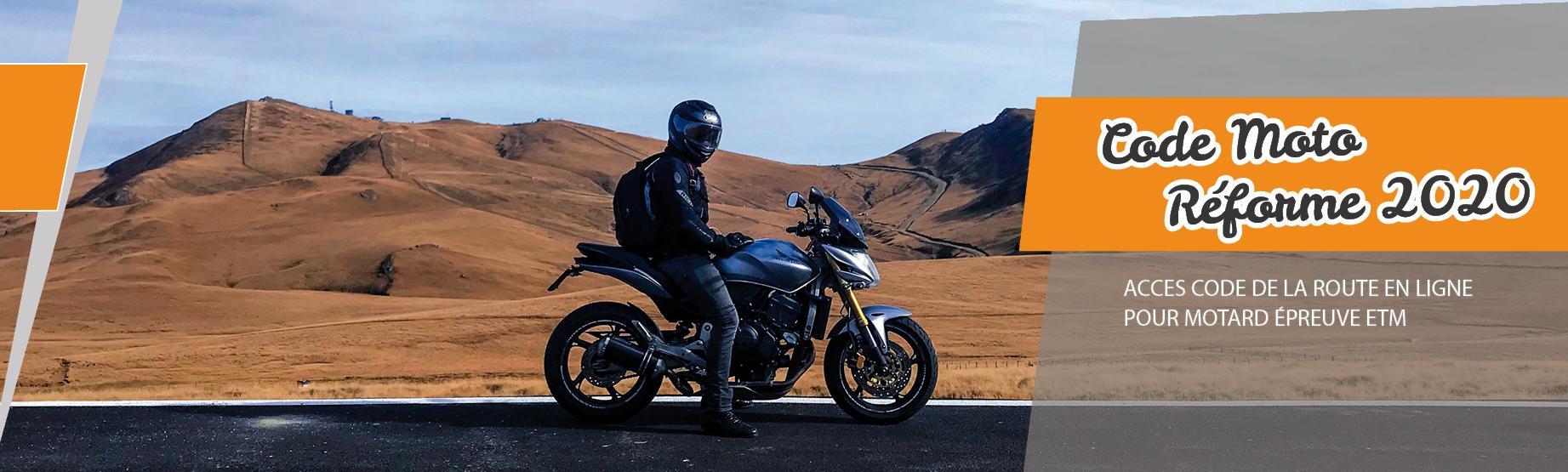Code de la route moto ETM 2020